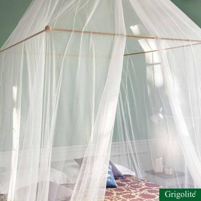Moustiquaire Tina 1 ouverture Lit double Abadie Literie et Matelas Tropicaux en Martinique