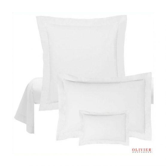 Taie oreiller blanc Abadie Literie et Matelas Tropicaux en Martinique