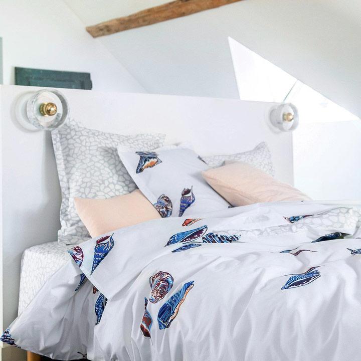 Parure de lit Salina Drap housse Drap plat Housse de couette Taies d'oreiller Abadie Literie et Matelas Tropicaux en Martinique